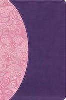 KJV One Big Story Bible, Pink/Purple LeatherTouch (Imitation Leather)
