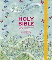 NIV Journalling Bible Illustrated by Hannah Dunnett (Hard Cover)