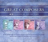 Great Composers 4CD Set