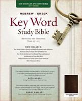 The Hebrew-Greek Key Word Study Bible (Genuine Leather)