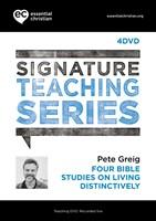 Signature Teaching Series: Living Distinctively DVD