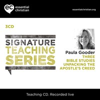 Signature Teaching Series: Apostle's Creed CD