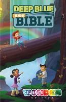 Deep Blue Kids Bible: Celebrate Wonder Edition (Hard Cover)