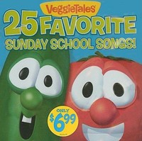 25 Favourite Sunday School Songs CD (CD-Audio)