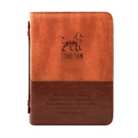 Bible Cover Stand Firm Imitation Leather, Large