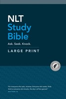 NLT Study Bible Large Print (Red Letter, Hardcover, Indexed) (Hard Cover)