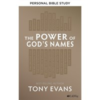 The Power of God's Names Personal Bible Study Book (Paperback)