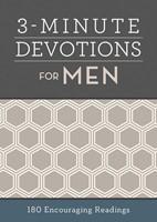 3-Minute Devotions for Men (Paperback)
