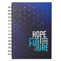 Wirebound Journal: Hope and a Future (Spiral Bound)
