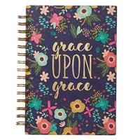 Wirebound Journal: Grace Upon Grace (Spiral Bound)
