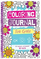 Coloring Journal for Girls (Spiral Bound)