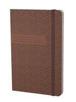 Banded Journal: Chevron (Hard Cover)