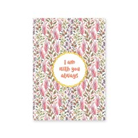 Journal: I Am With You Always  Hardcover