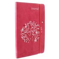 Flexcover Journal: Red/Ephesians 3:17 (Imitation Leather)