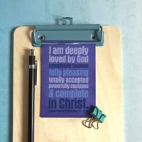 Deeply Loved (Urban) Mini Card