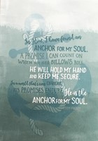 Anchor For My Soul Mini Card