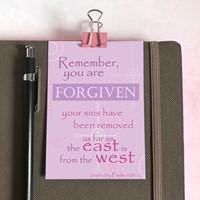Forgiven Mini Card
