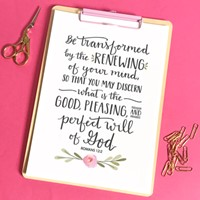 Be Transformed - A5 Print (Poster)