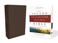 NKJV Lucado Encouraging Word Bible, Brown