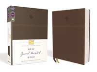 NRSV Journal the Word Bible, Brown (Imitation Leather)
