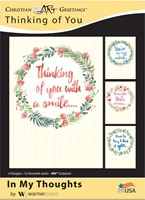 Boxed Cards - In My Thoughts (pack of 12)