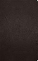 ESV Thinline Bible (Buffalo Leather, Deep Brown) (Imitation Leather)