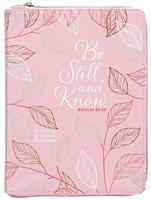 2021 18-Month Planner: Be Still and Know (Imitation Leather)