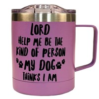 My Dog Stainless Steel Mug with Handle (General Merchandise)