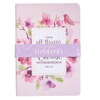Floral Notebook Set (pack of 3) (Paperback)