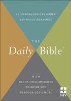 The NIV Daily Bible® (Hard Cover)