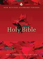 NRSV Compact Text Bible, White (Hard Cover)