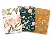GraceLaced Lined Notebooks - Rejoice, Pray, Give (set of 3)