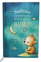 ICB Bedtime Devotions with Jesus Bible (Hard Cover)