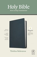 NLT Thinline Reference Bible, Filament Enabled Edition (Genuine Leather)