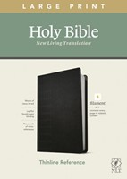 NLT Large Print Thinline Reference Bible, Filament Edition (Imitation Leather)