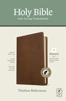NLT Thinline Reference Bible, Filament Enabled Edition (Red (Imitation Leather)