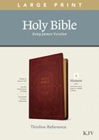 KJV Large Print Thinline Reference Bible, Filament Edition