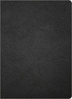 KJV Study Bible, Full-Color, Black Premium Leather (Genuine Leather)