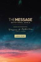 The Message Devotional Bible Large Print
