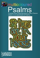 Multicoloured Psalms Colouring Book (Booklet)