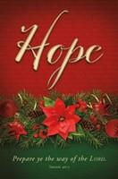 Hope Advent Bulletin (pack of 100) (Bulletin)