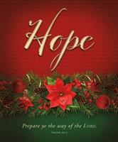 Hope Advent Large Bulletin (pack of 100) (Bulletin)