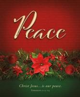 Peace Advent Large Bulletin (pack of 100) (Bulletin)