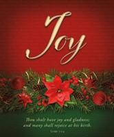 Joy Advent Large Bulletin (pack of 100) (Bulletin)