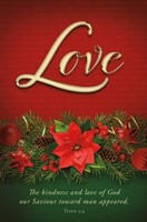 Love Advent Bulletin (pack of 100) (Bulletin)