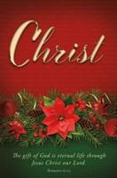 Christ Advent Bulletin (pack of 100) (Bulletin)