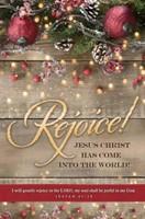 Rejoice! Isaiah 61:10 Bullein (pack of 100) (Bulletin)