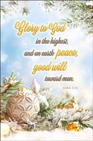 Glory to God in the Highest Bulletin (pack of 100) (Bulletin)