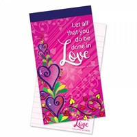 Let All Be Done in Love Jotter Notepad (Paperback)