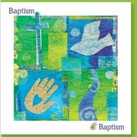 Baptism Joy Greetings Card